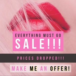 Everything Must Go Sale!!!
